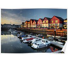 Exmouth Marina  Poster