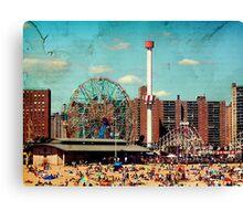 Vintage Coney Island  Canvas Print