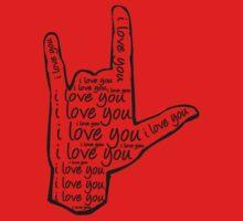 I Love You Sign Language by BFurda