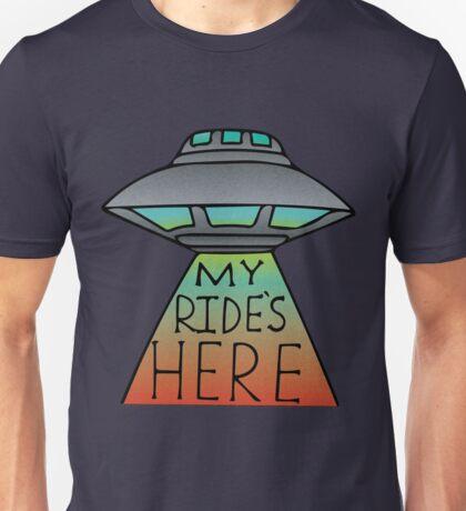 My Ride's Here Unisex T-Shirt
