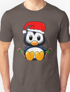 Cute Cartoon Christmas Penguin T-Shirt