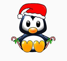 Cute Cartoon Christmas Penguin Unisex T-Shirt