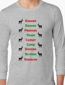 Santa Claus's reindeer Long Sleeve T-Shirt