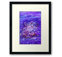 Flower Person Framed Print