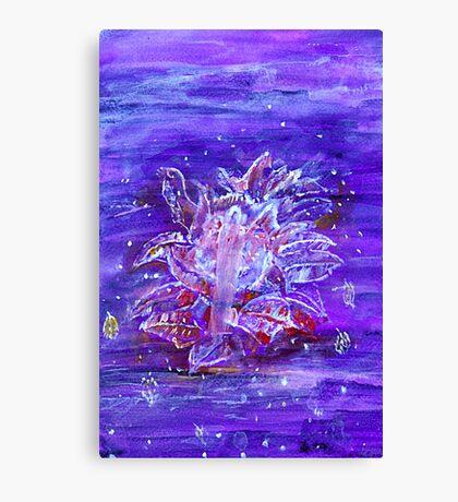 Flower Person Canvas Print