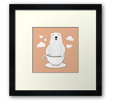 Take a Cup of Bear Framed Print