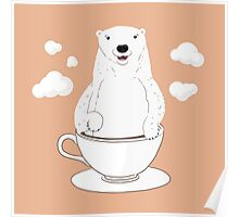 Take a Cup of Bear Poster