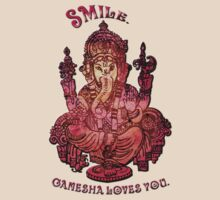 Smile, Ganesha Loves You by Laura Schneider
