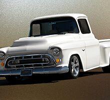 1957 Chevrolet Custom Pickup by DaveKoontz