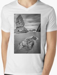 Monolith Mens V-Neck T-Shirt