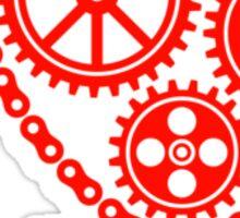 I Cog Robots Sticker