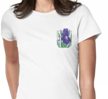 I is for Iris - patch Womens Fitted T-Shirt