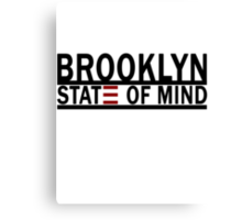 Brooklyn State of Mind Canvas Print