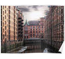 Old Hamburg Poster