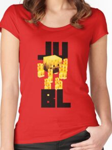 JU BL Women's Fitted Scoop T-Shirt
