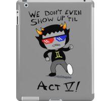 Act V iPad Case/Skin