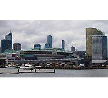 Etihad Stadium from Docklands Photographic Print