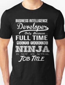 Business intelligence Developer T-Shirt