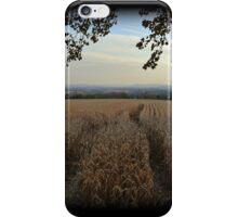Upper Nazareth Autumn Evening iPhone Case/Skin
