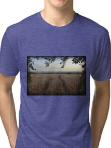 Upper Nazareth Autumn Evening Tri-blend T-Shirt