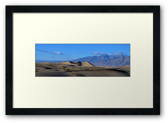 Mesquite Sand Dunes... distant by Bob Moore