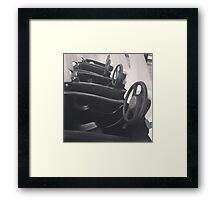 Play cars Framed Print