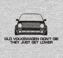 Old Volkswagen Don't Die by Barbo