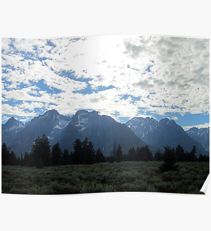 Blanketed Giants Poster