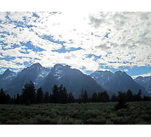 Blanketed Giants Photographic Print