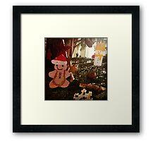 Gingerbread decoration Framed Print