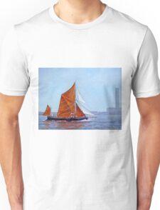 Thames Barge - London Unisex T-Shirt