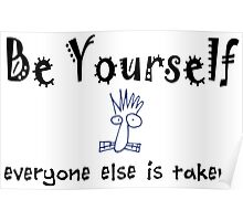 Be Yourself -Lite Poster