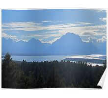 Shadowy Mountains Poster