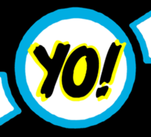 HIP-HOP ICONS: YO! RECORDS Sticker
