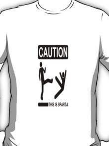 Frosty Antler-  This Is Sparta T-Shirt