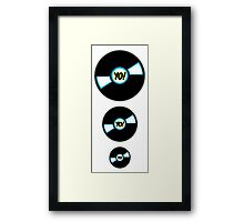 HIP-HOP ICONS: YO! RECORDS Framed Print
