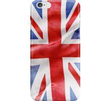 Uk grungy flag iphone case iPhone Case/Skin