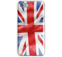 Uk grungy flag iphone case iPhone Case/Skin
