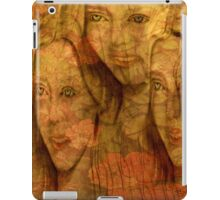 The Three Flowers iPad Case/Skin