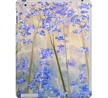 Blue & Taupe Forest Ipad Case iPad Case/Skin