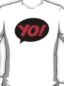 HIP-HOP ICONS: YO! TEXTBOX T-Shirt