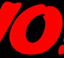 HIP-HOP ICONS: YO! TEXTBOX Sticker