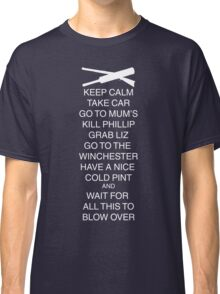 Keep Calm Shaun Classic T-Shirt