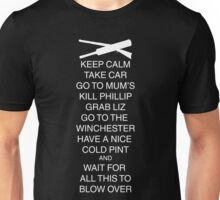 Keep Calm Shaun Unisex T-Shirt