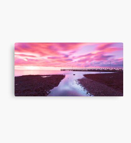 Wellington Point Pier Canvas Print