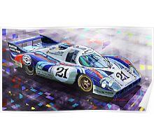 Porsche 917 LH Larrousse Elford 24 Le Mans 1971 Poster