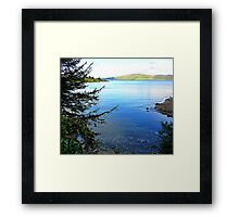 A Cove On The Fanad Peninsula Framed Print