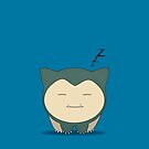 Snorlax by EF Fandom Design