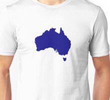 Australia map Unisex T-Shirt