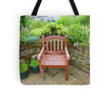 A Seat In The Herb Garden Tote Bag